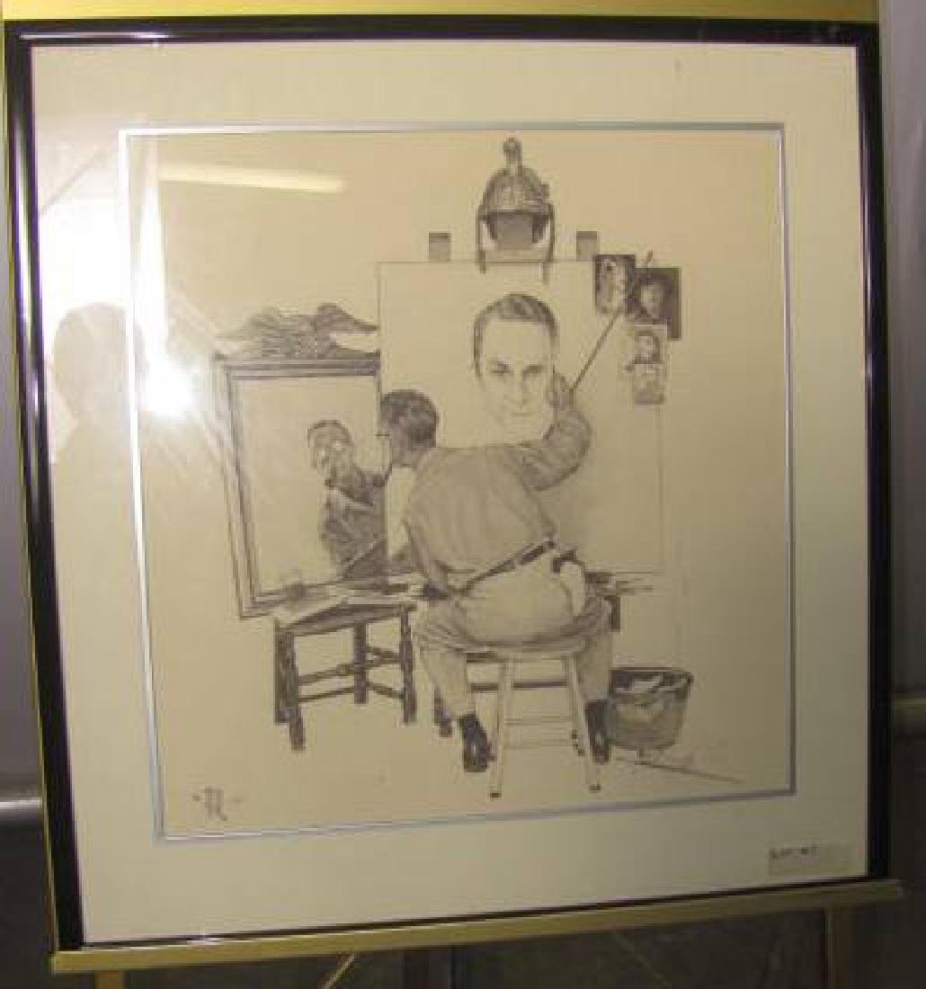 Norman Rockwell 1983 Print