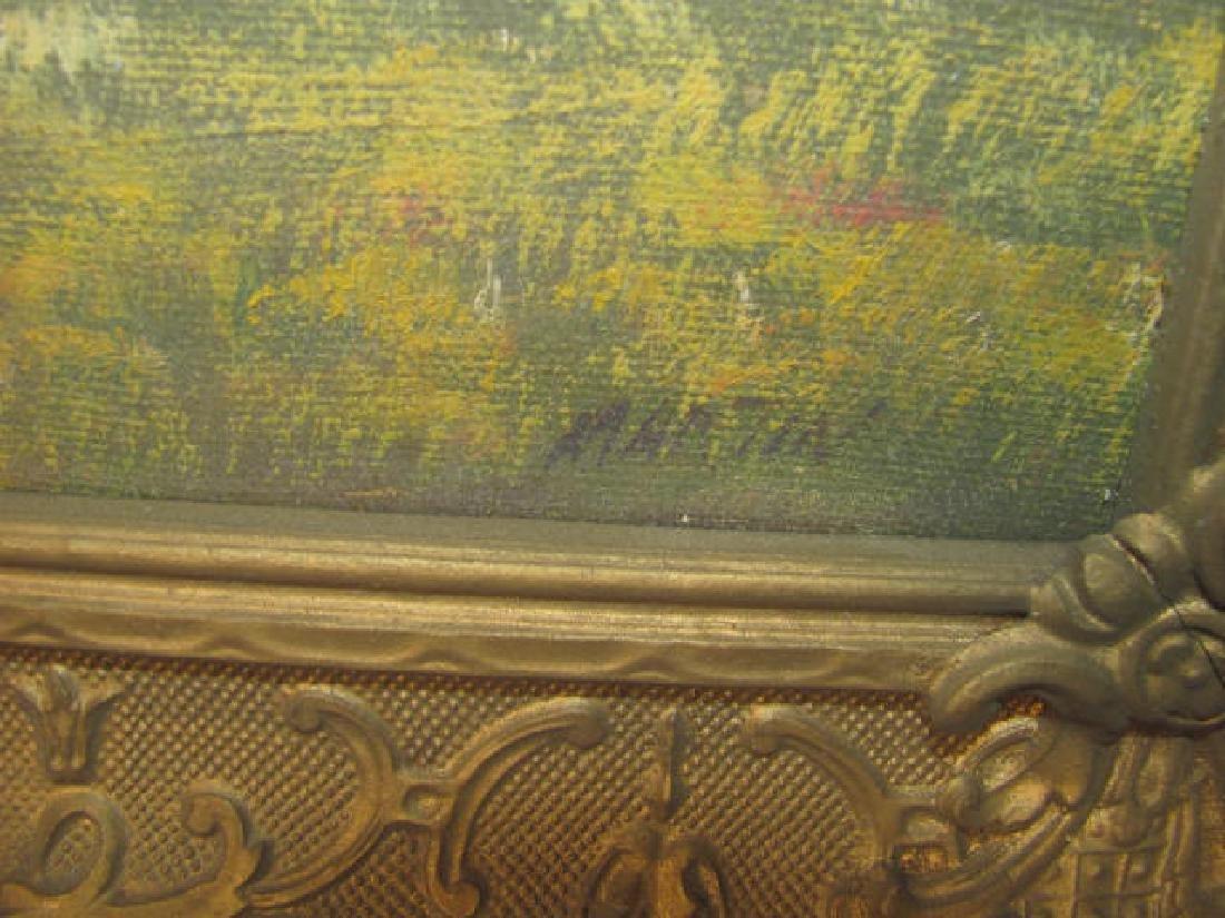 Martin Oil on Canvas Landscape - 2