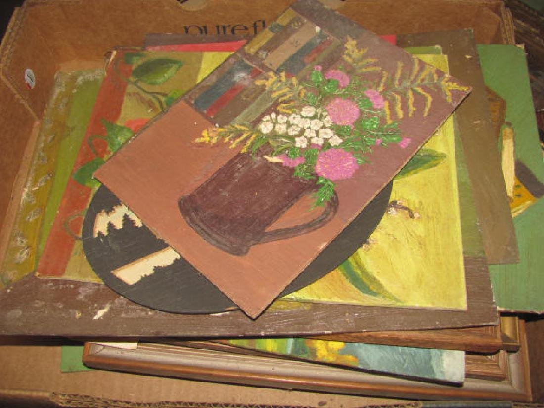 Lot of Misc. Oil on Boards