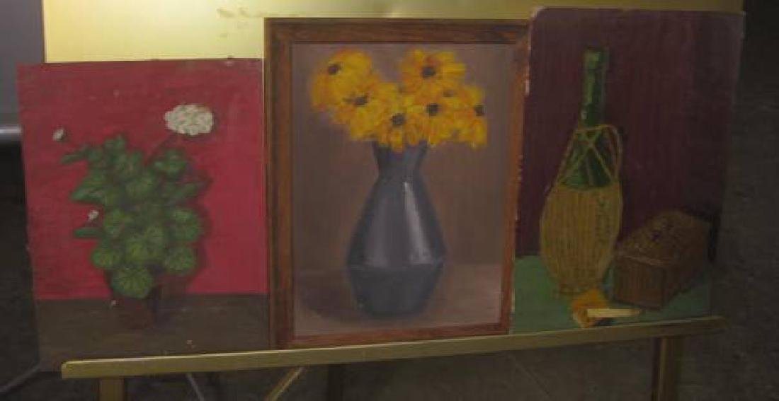 Lot of Misc. Oil on Boards - 4