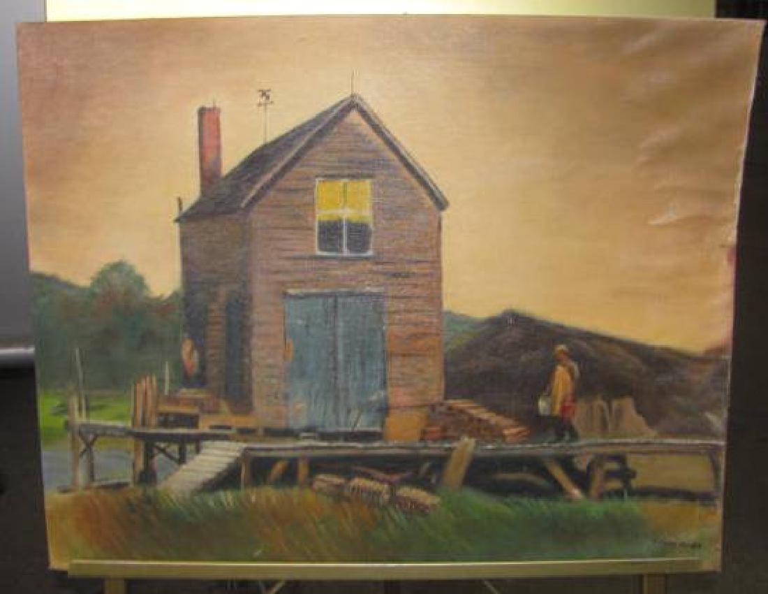 Janet Piner Boat House O/B