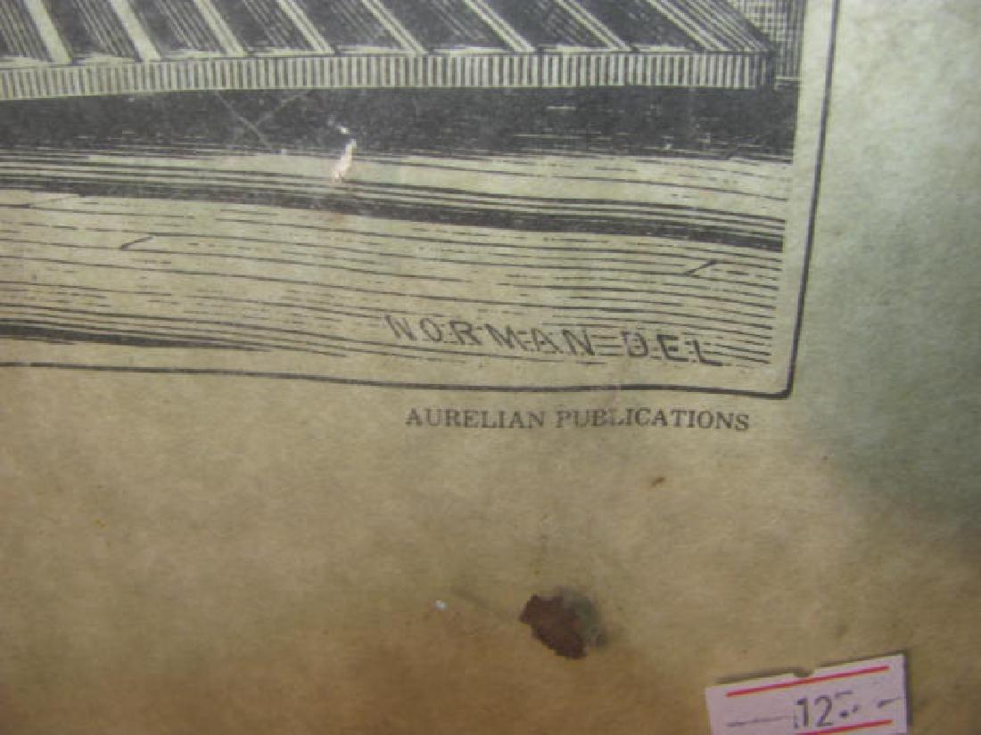 American Steam Locomotive Print - 3