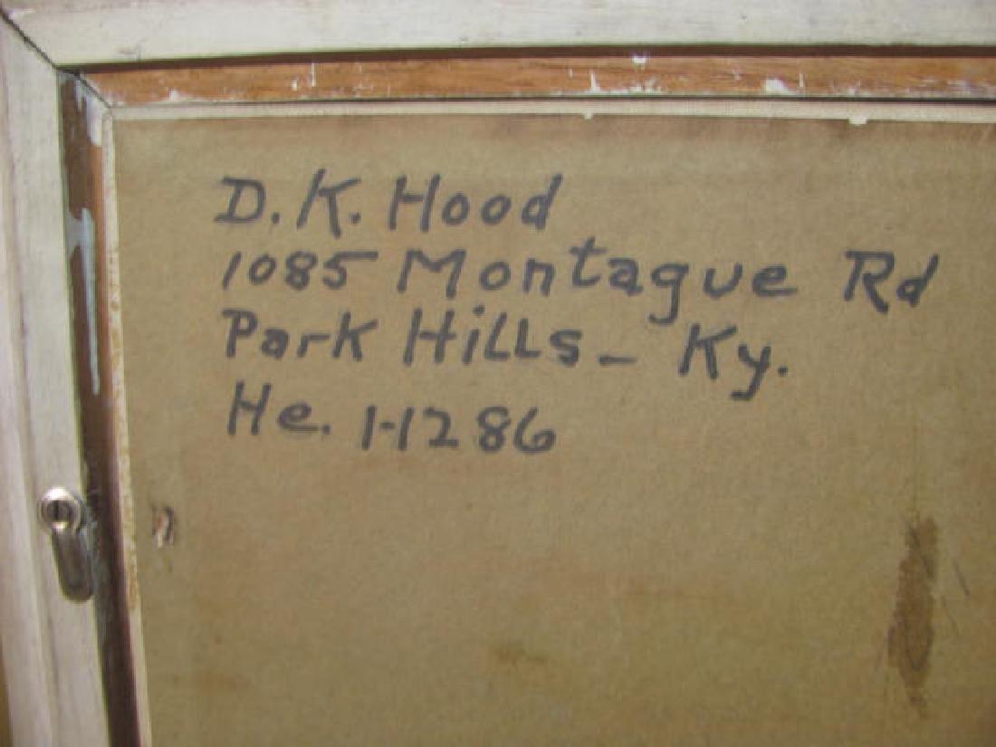D. Hood Oil on Board - 4