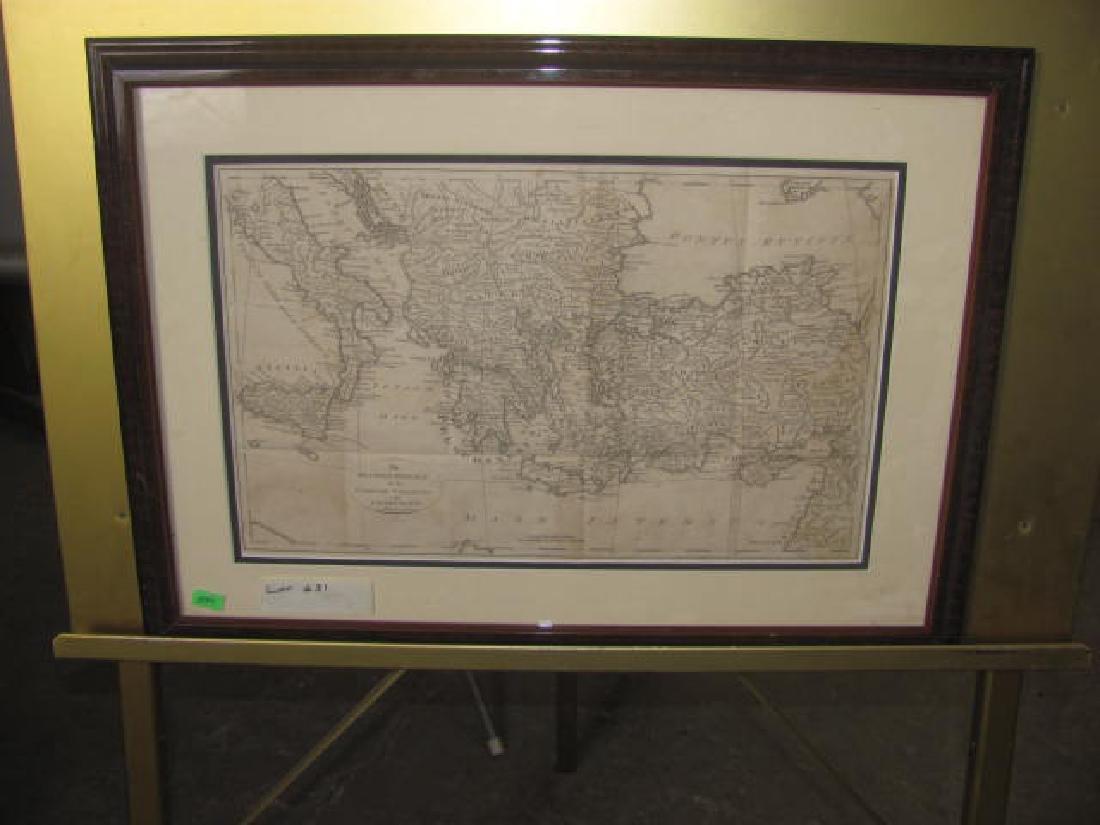 Grecian Colonies Map