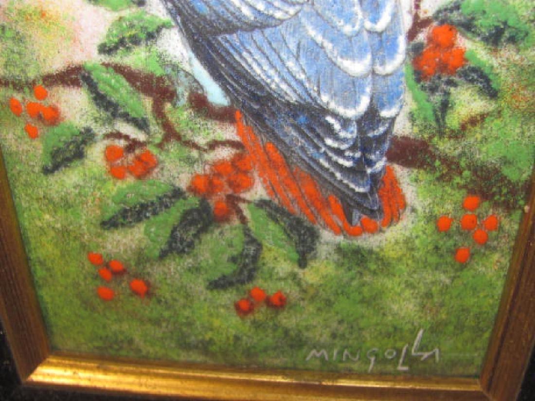 Enameled Parrot Mingolla - 2
