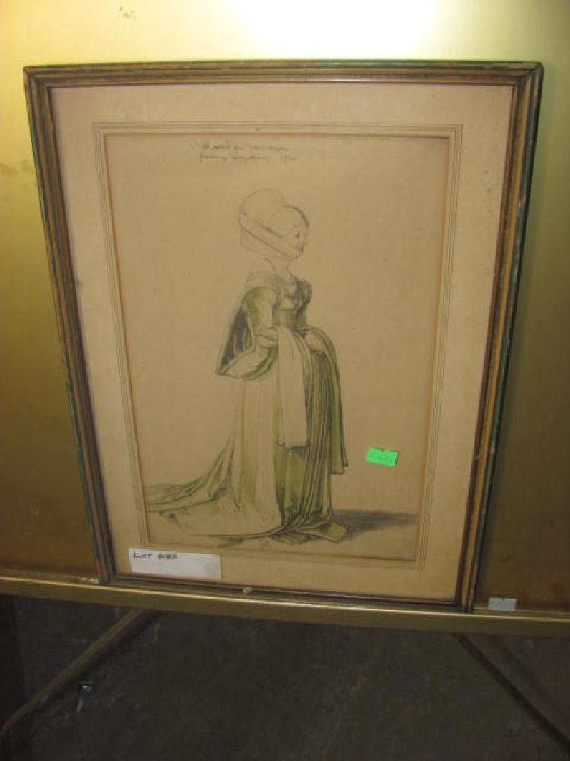 Print of Woman
