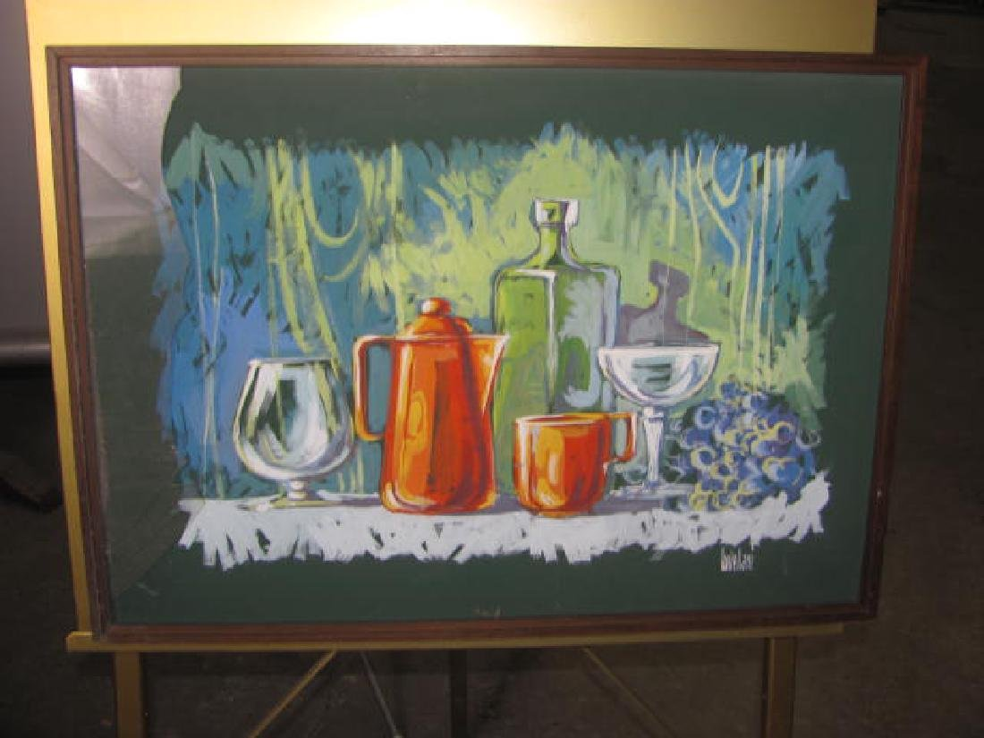 Lastellani Oil On Canvas Still Life