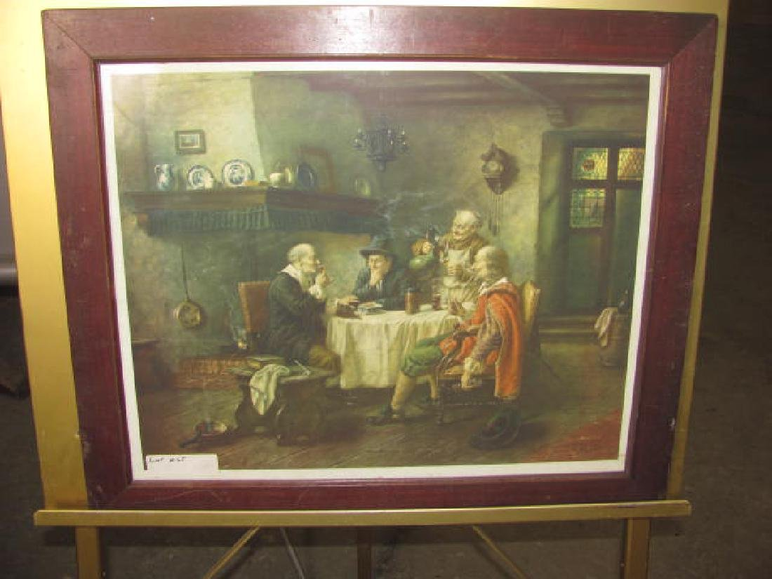 Early Dinner Dance Scene Print