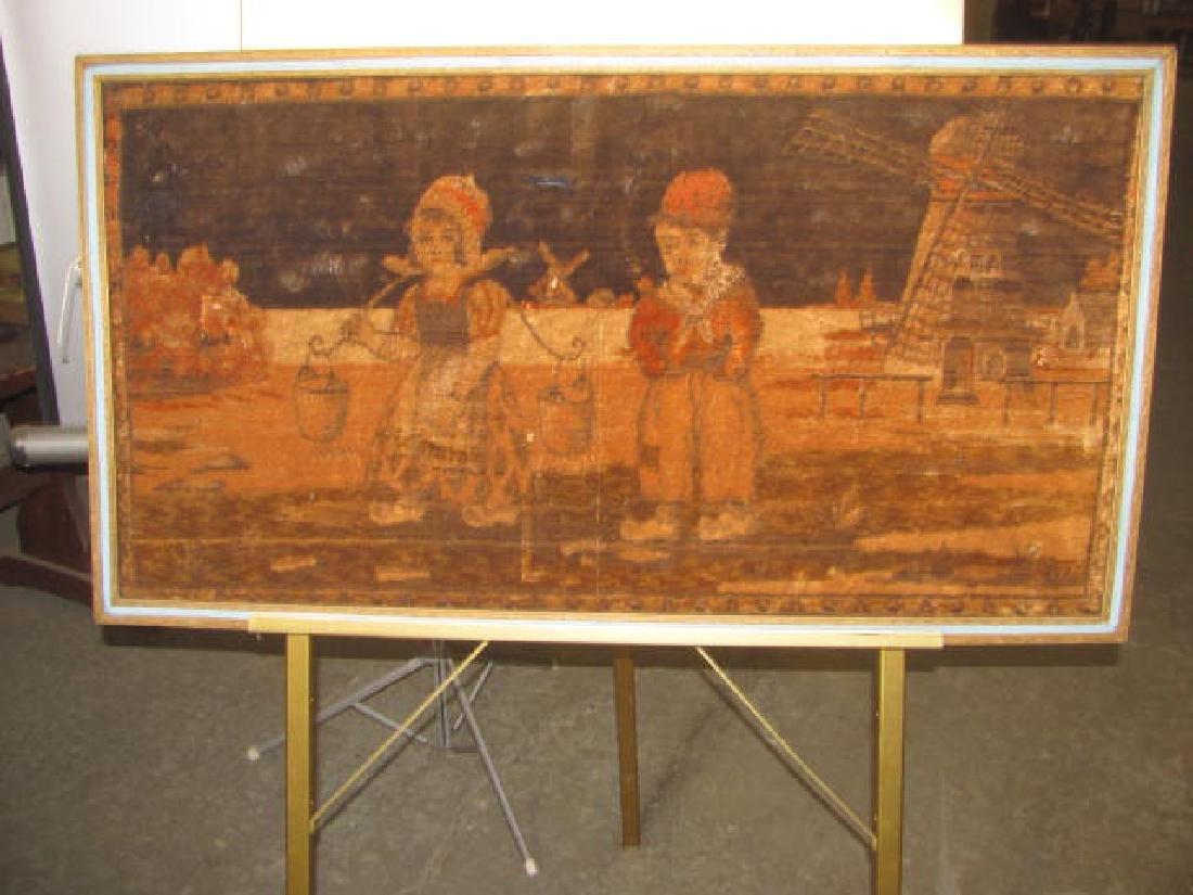 Dutch Kids Windmill Tapestry