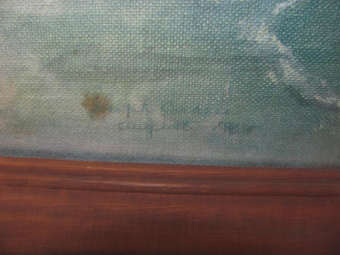 Seascape Oil on Board by Joseph Cashore - 2
