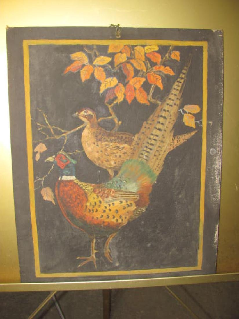 Pheasant Oil on Board