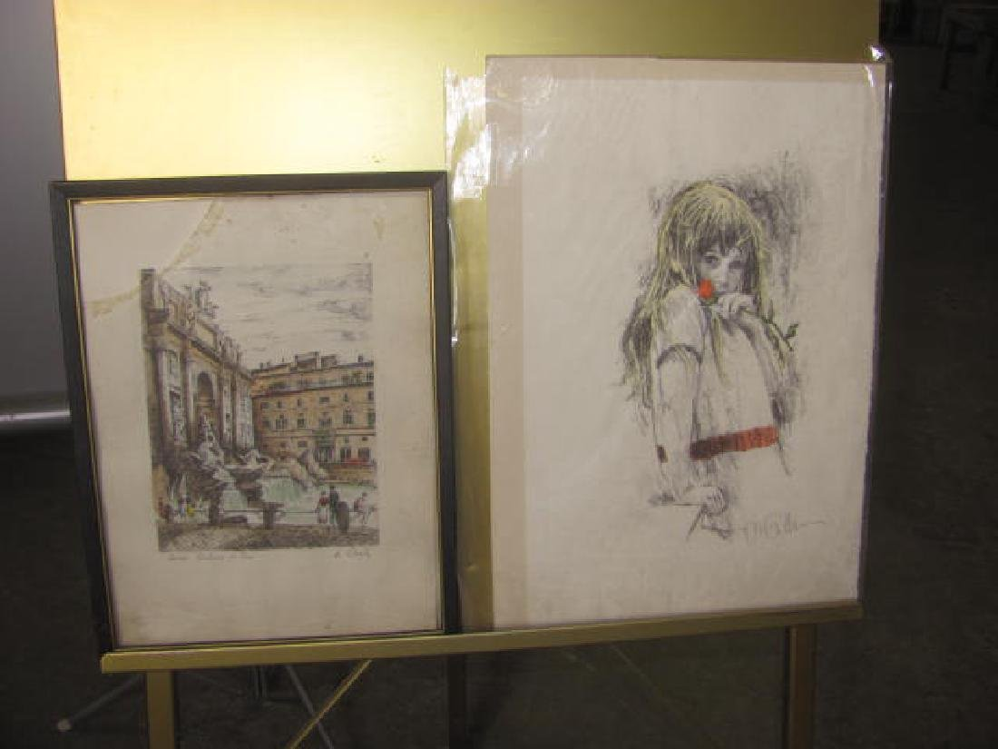 Misc. Print Painting Lot - 2