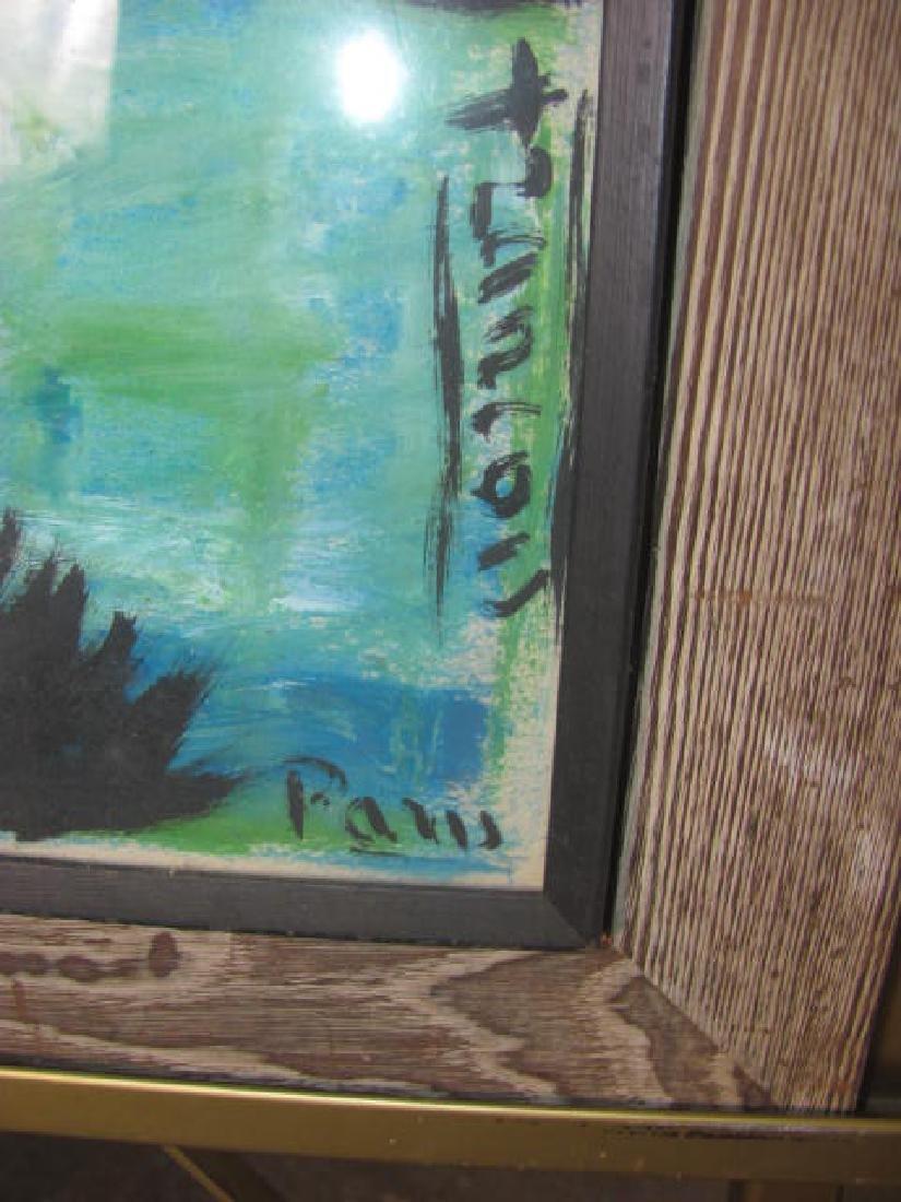Landscape Oil on Canvas - 2