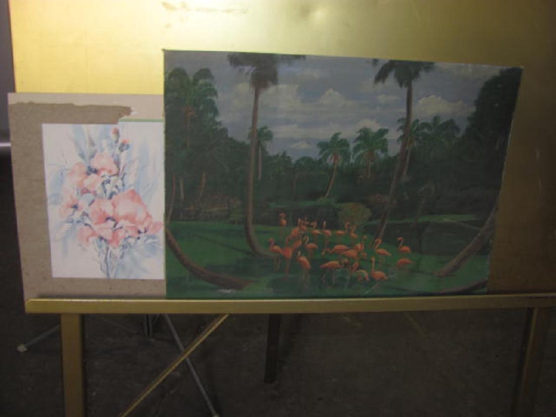 5 Watercolors & O/B Lot