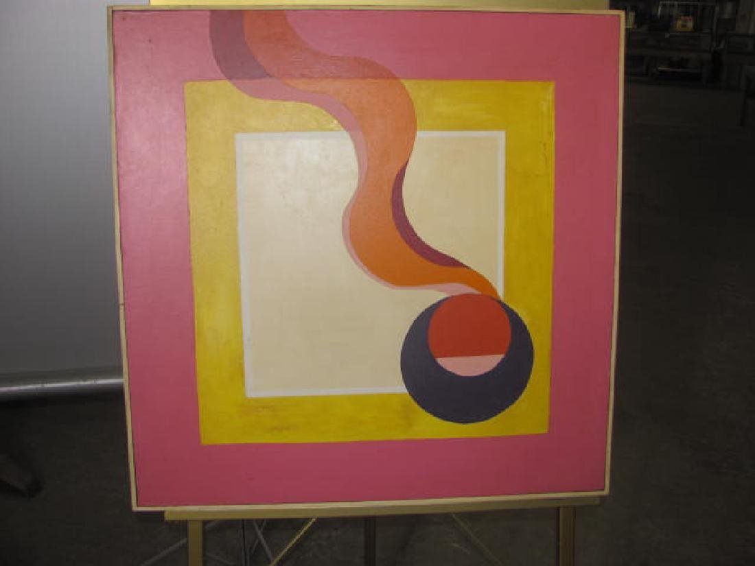 E. Deutsch Abstract Painting