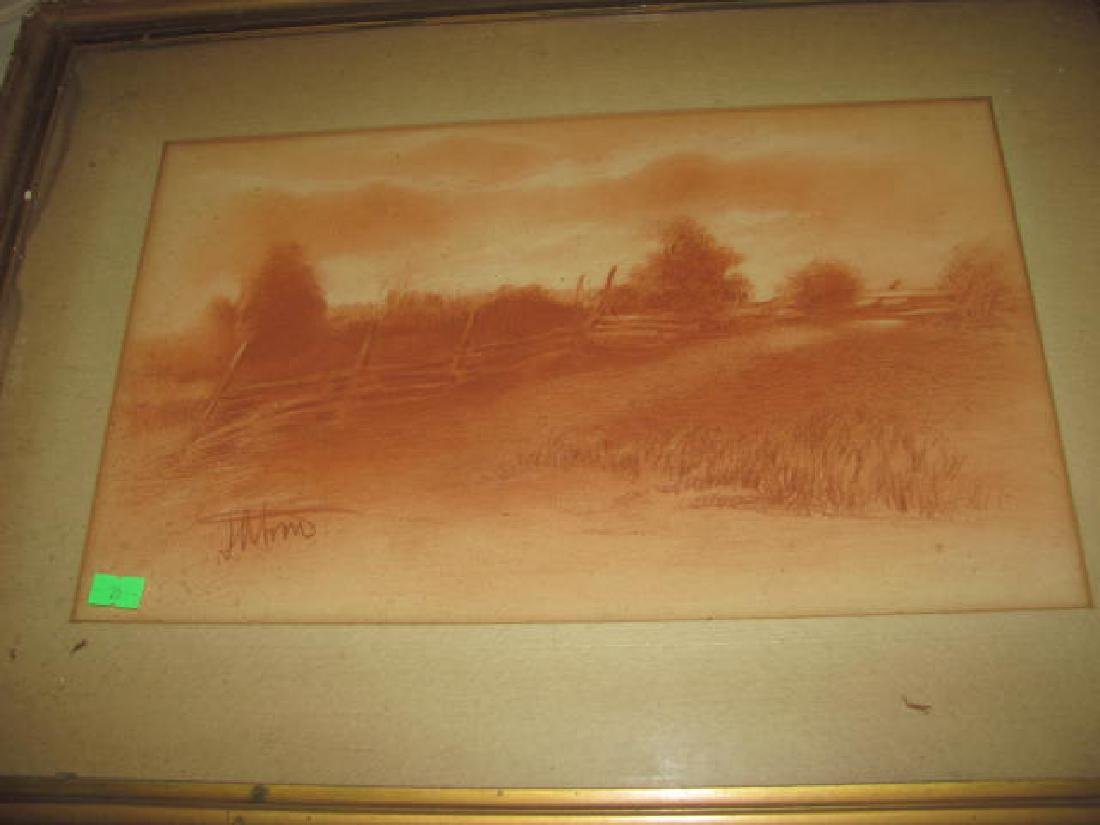Misc Prints Drawings Painting Lot - 6