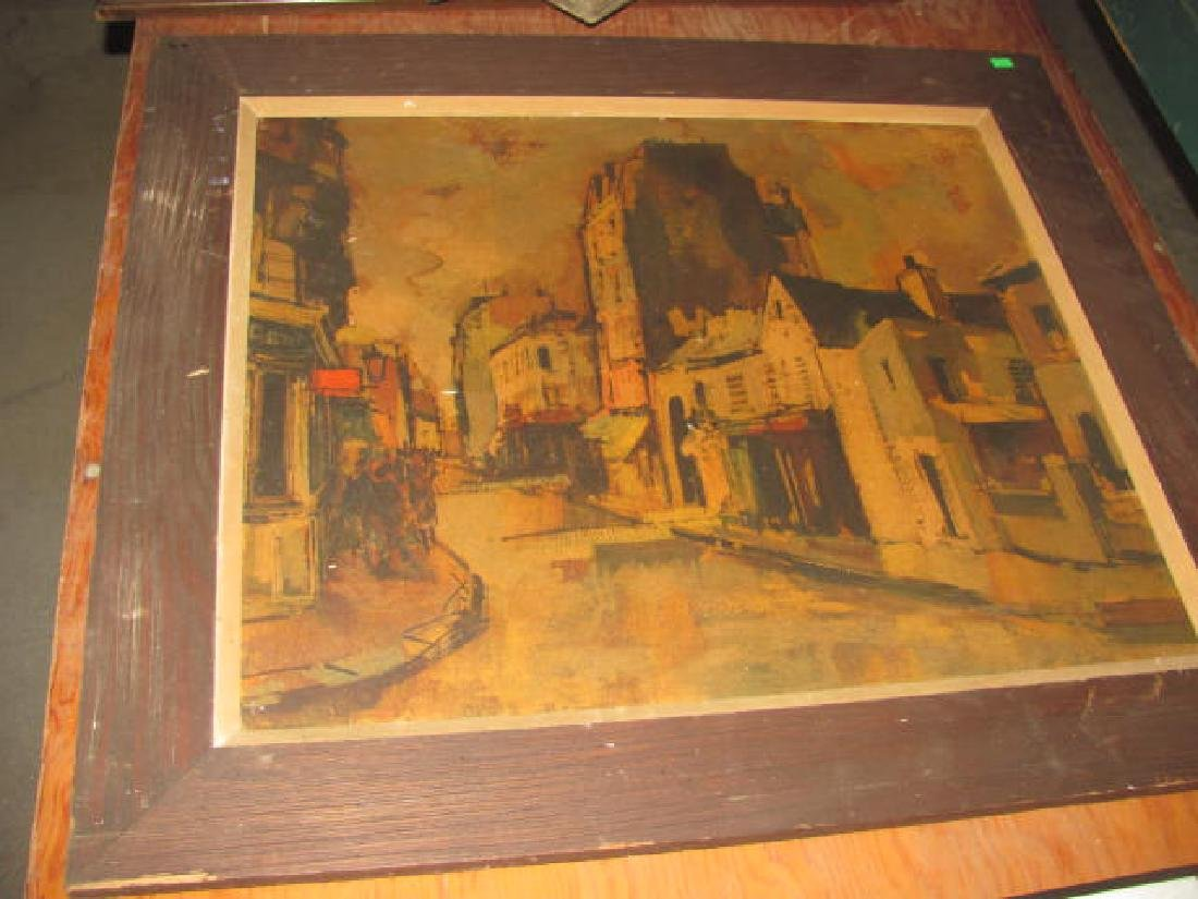 Misc Prints Drawings Painting Lot - 9
