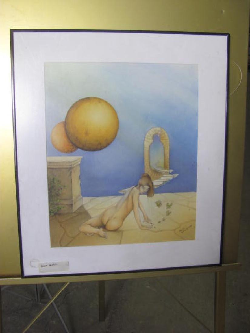 1996 Nestor Valdes Print