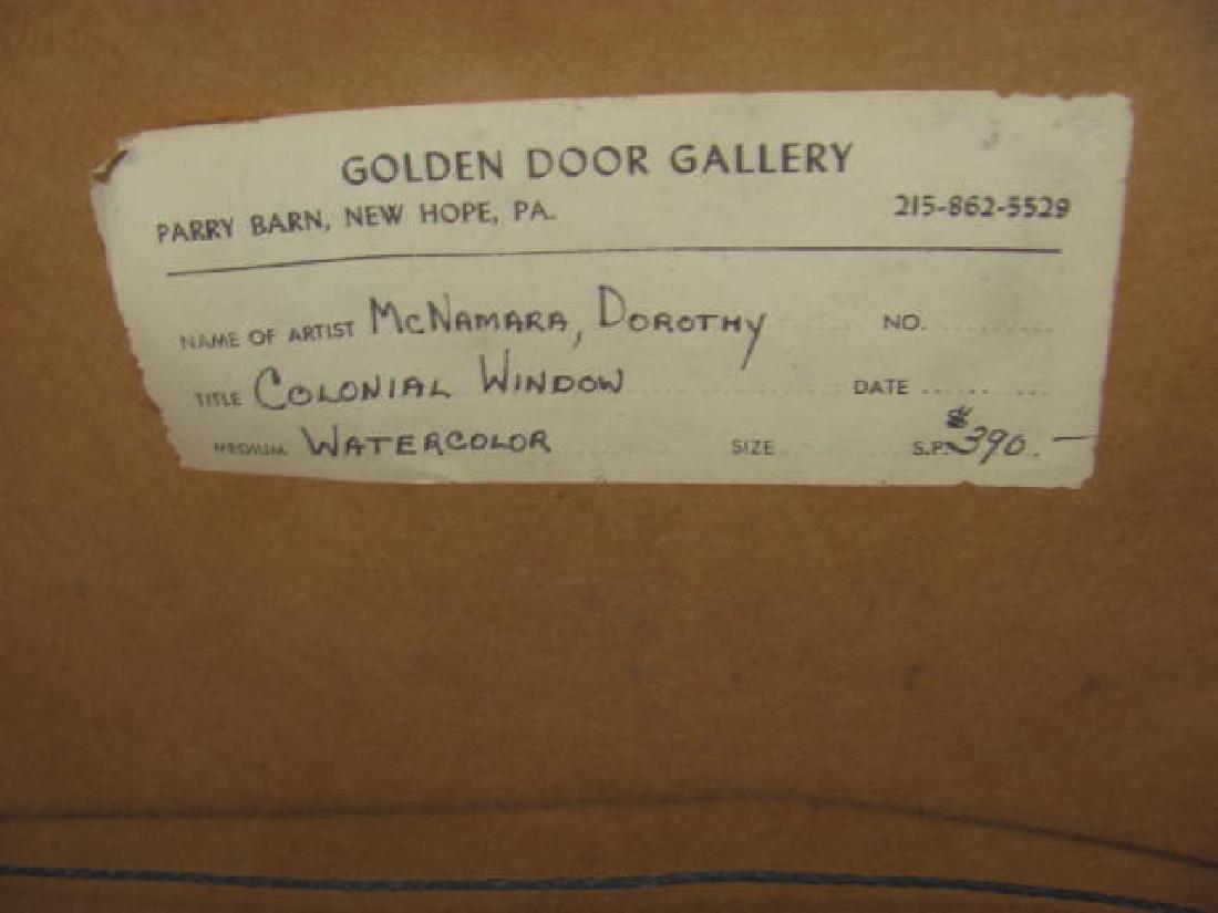 Dorothy McNamara Colonial Window - 4
