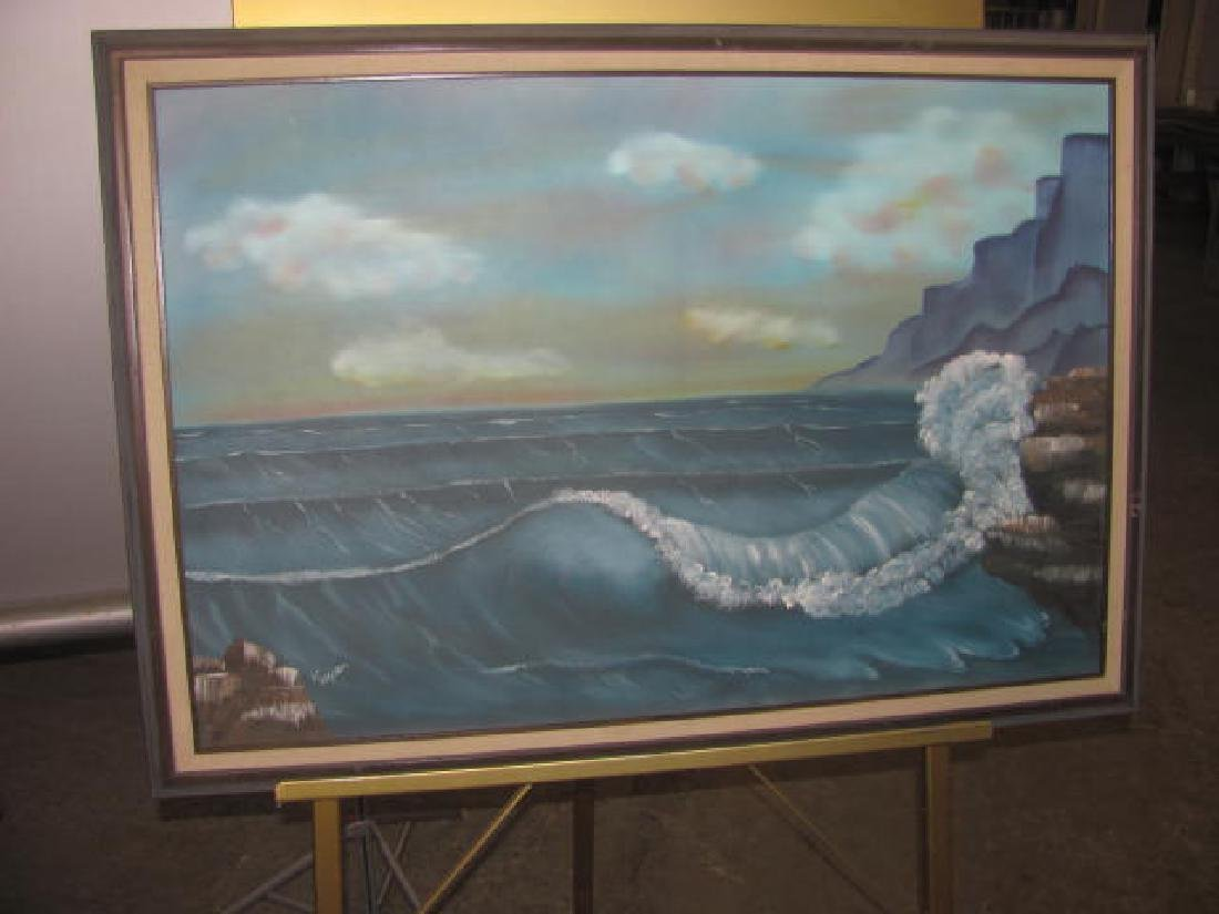 Keiper Seascape Oil on Canvas