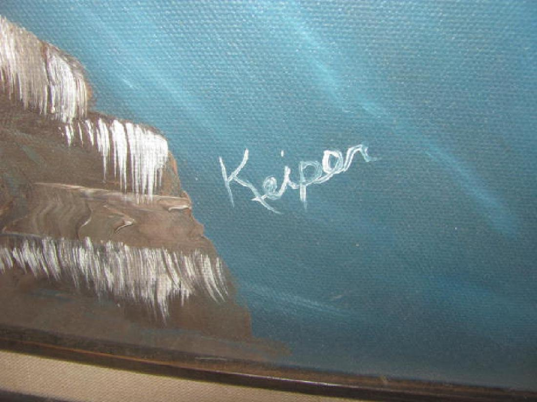 Keiper Seascape Oil on Canvas - 2