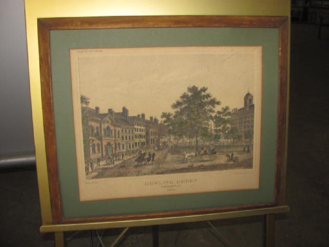Bowling Green Broadway Print 1831