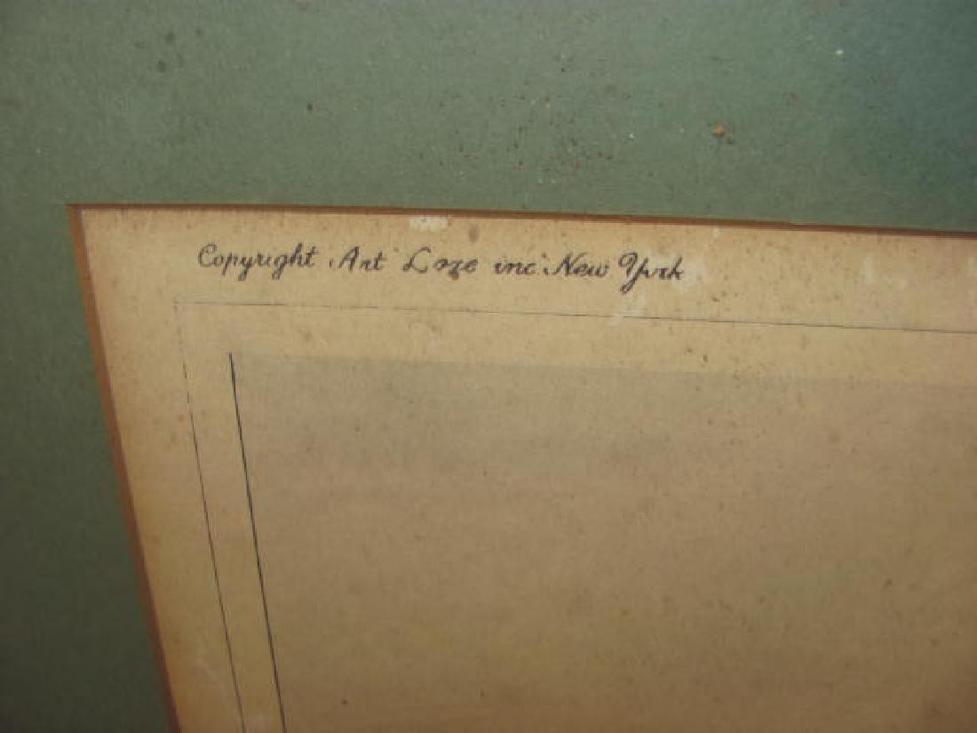 Bowling Green Broadway Print 1831 - 2