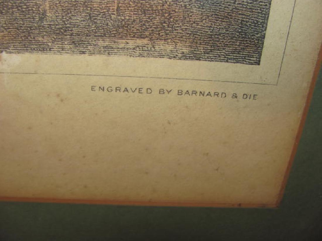 Bowling Green Broadway Print 1831 - 4