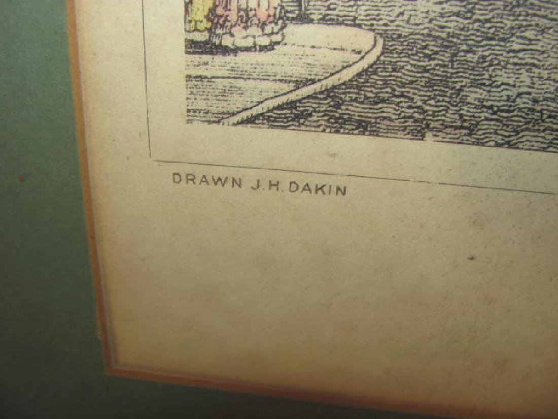 Bowling Green Broadway Print 1831 - 5