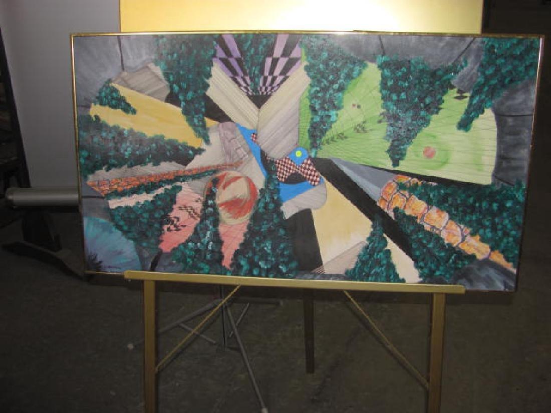 Alan Jettery Watercolor & Oil