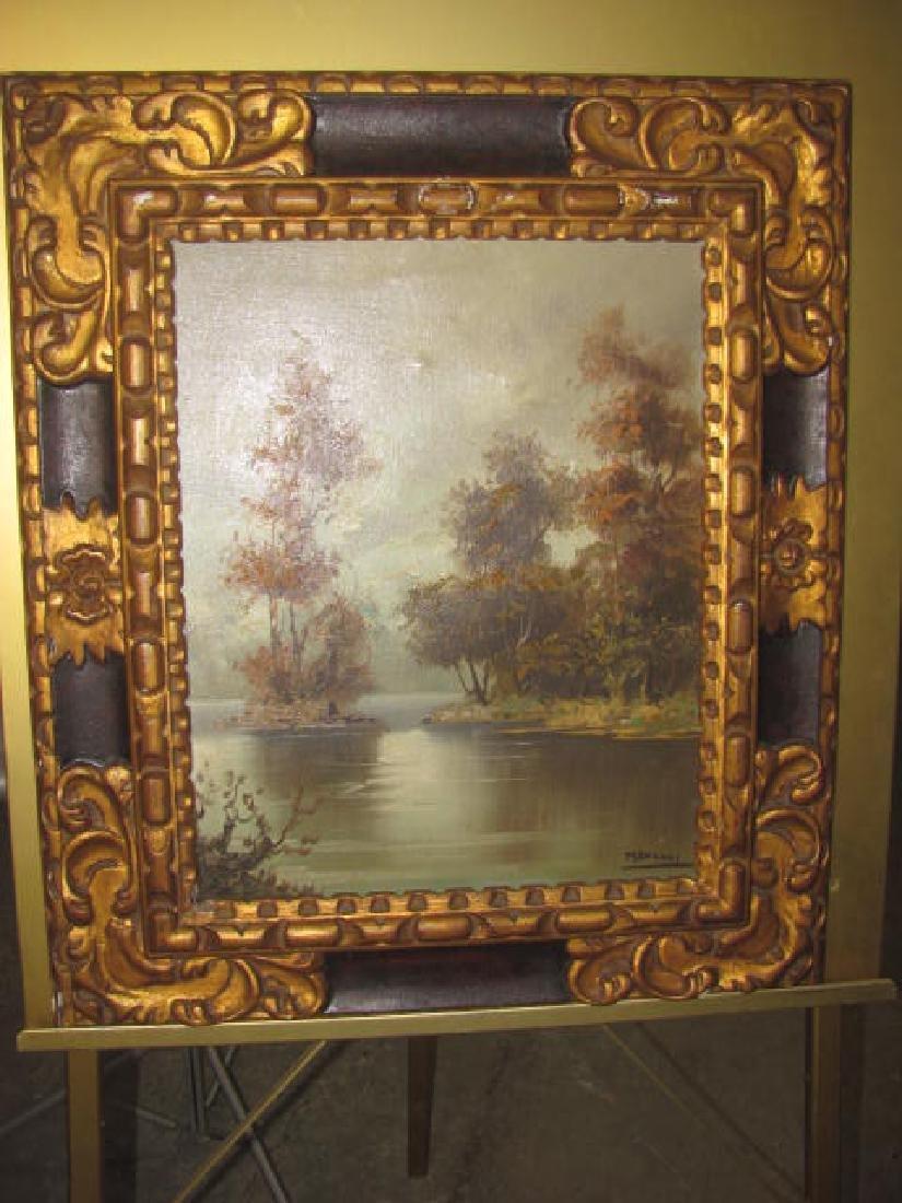 Mancini Oil on Canvas Landscape