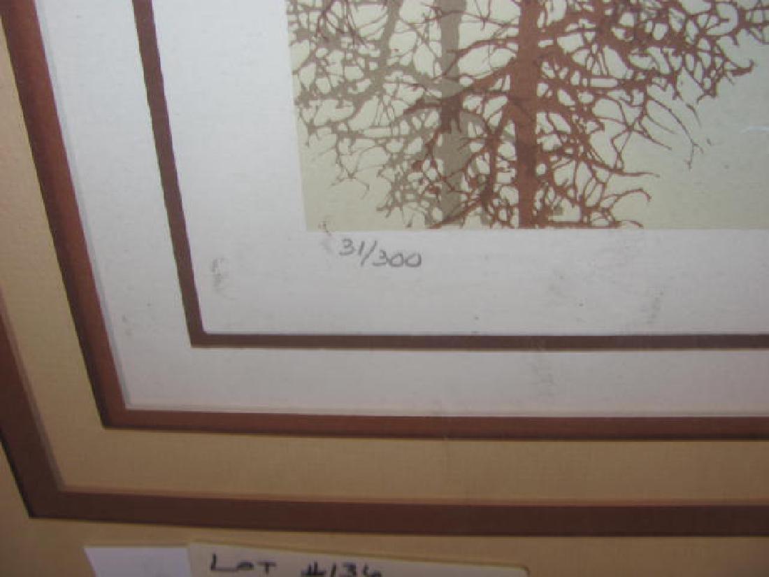 James Hagen Print signed - 2