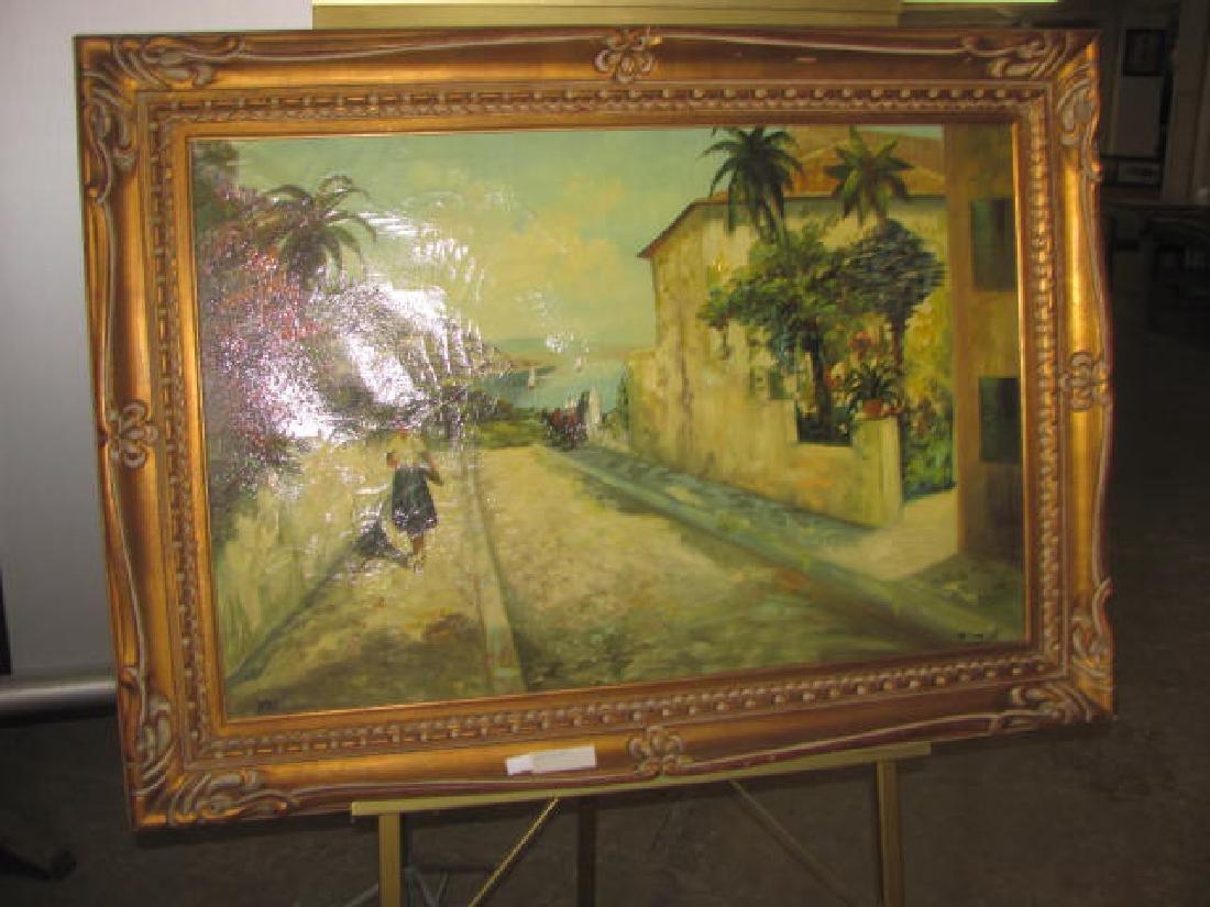 Korean Signed Oil Painting