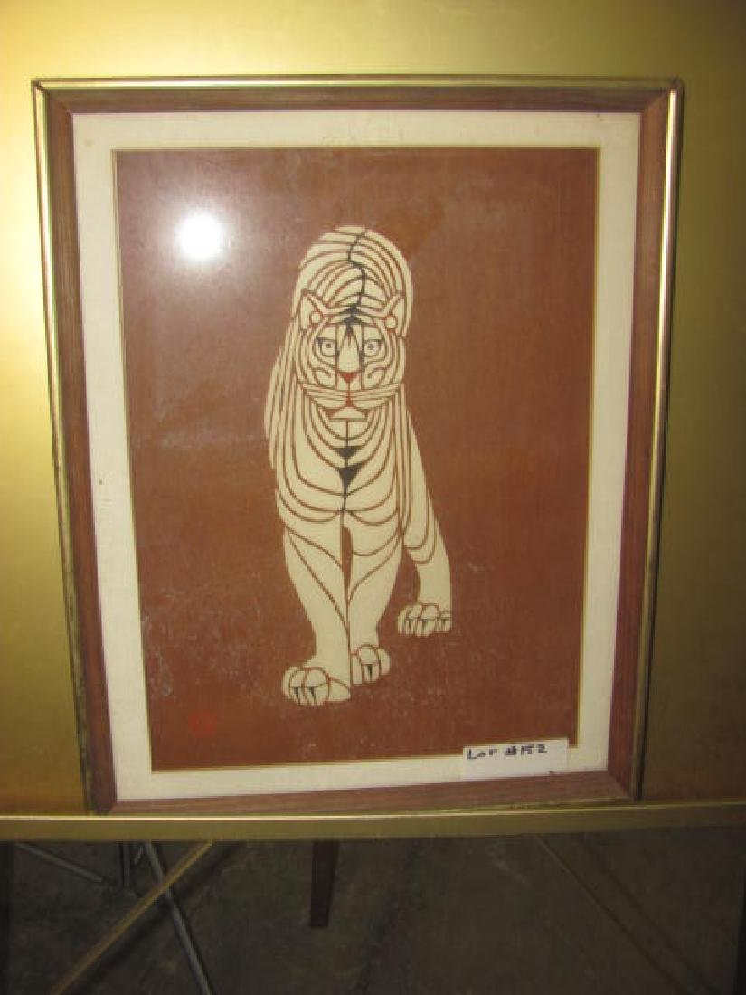 Chinese Tiger Print