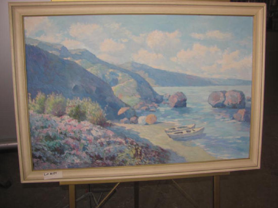 Simon Oil on Canvas Seascape