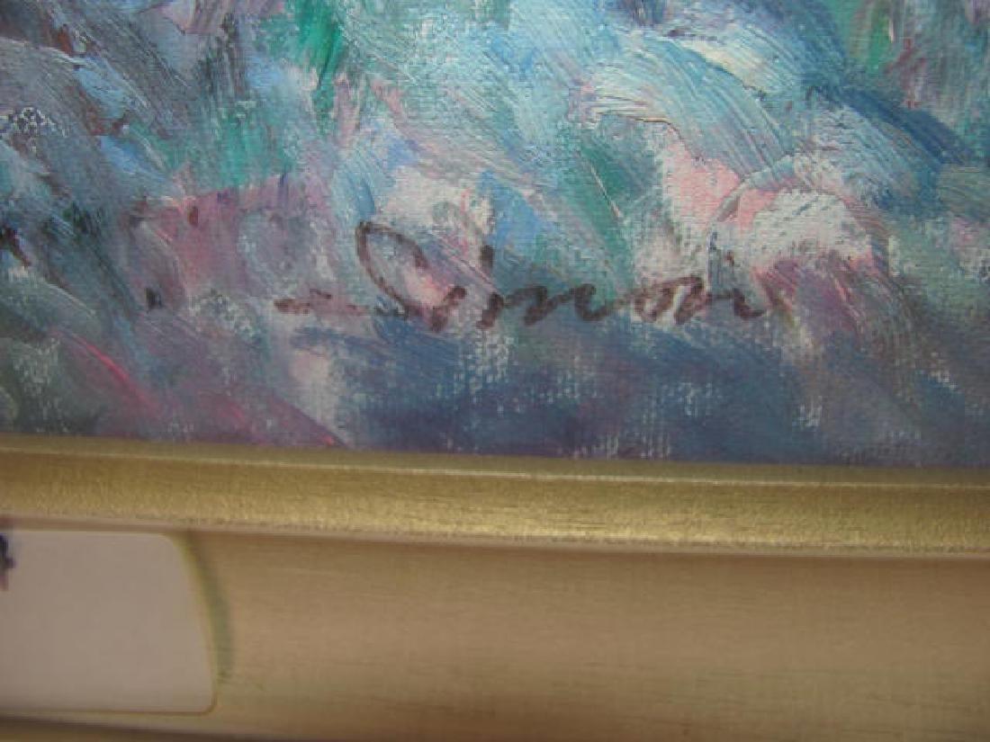 Simon Oil on Canvas Seascape - 2