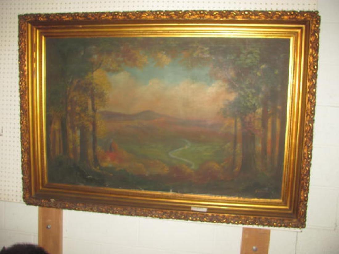 Oil on Canvas Schneider Hudson River