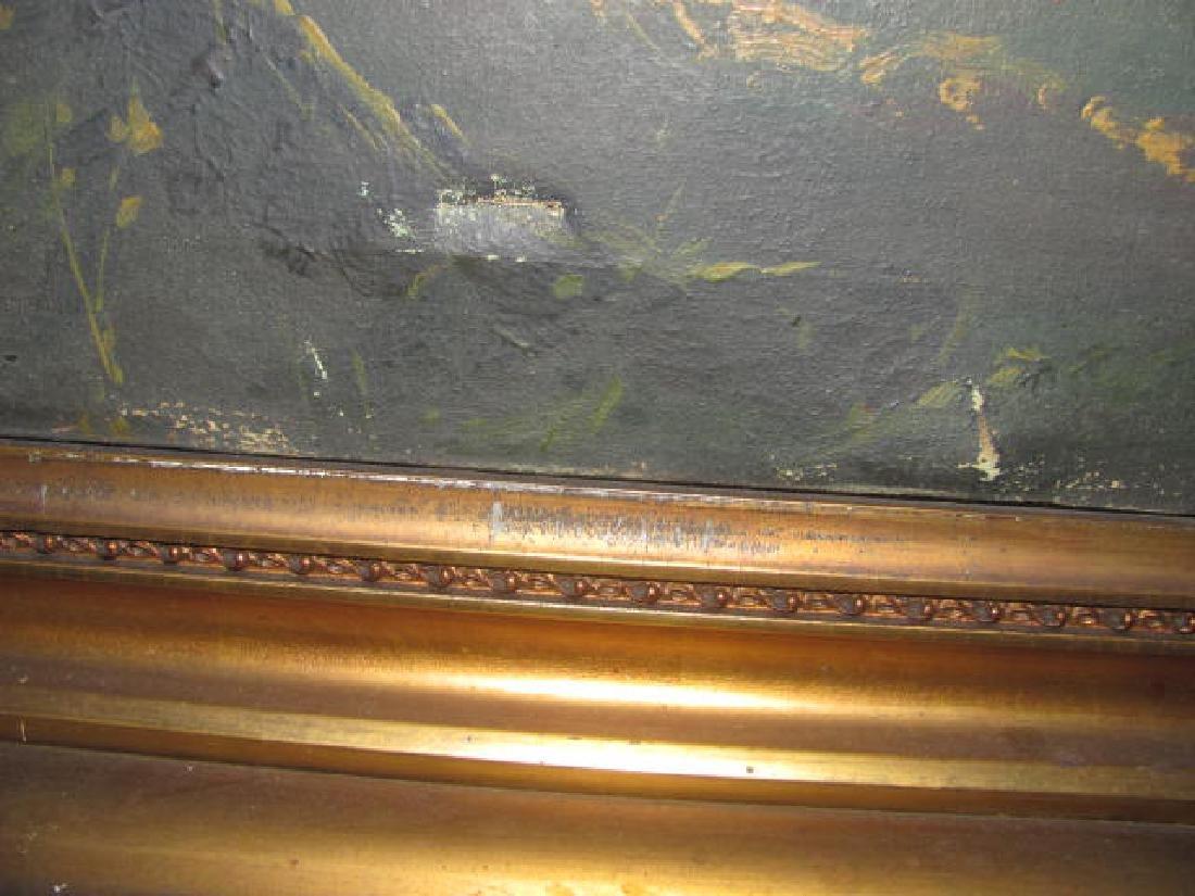 Oil on Canvas Schneider Hudson River - 2