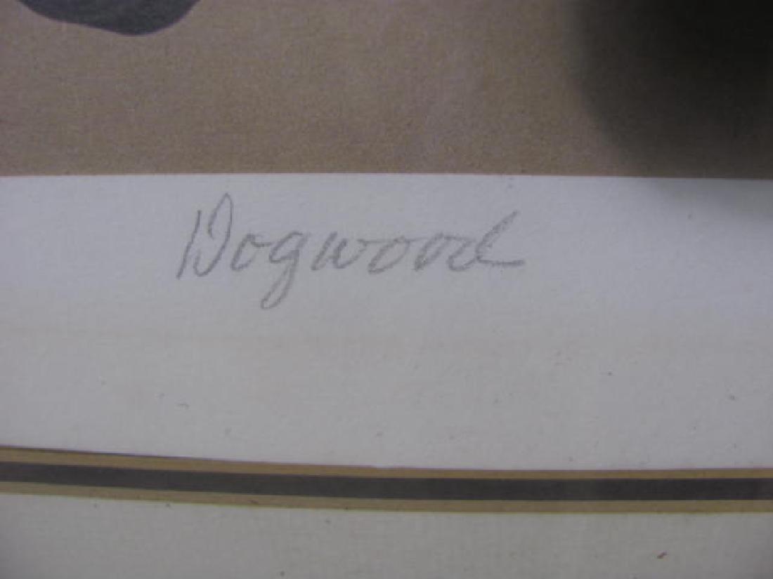 1983 John Zak 1983 Dogwood Print - 3