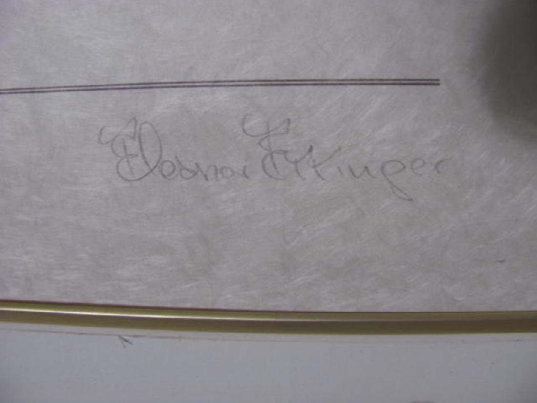 Norman Rockwell Framed Dedication - 2