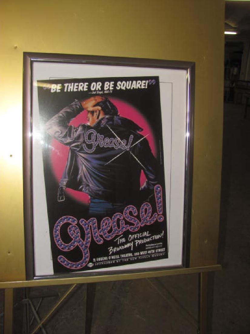 Grease Broadway Theatre Poster