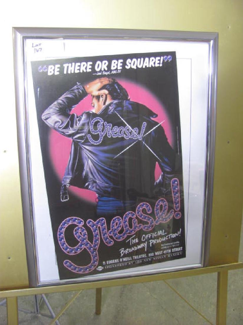 Grease Broadway Theatre Poster - 2