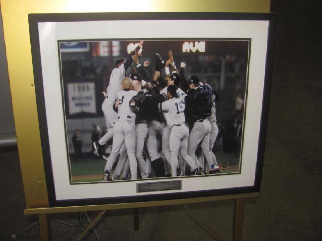 Framed Yankees Print