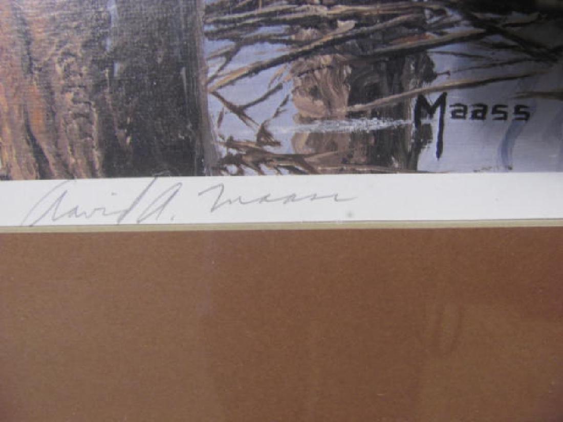 Maas Signed Mallard Duck Print - 3