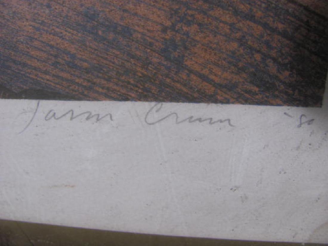 Interior w/ Cradle Signed Print - 4