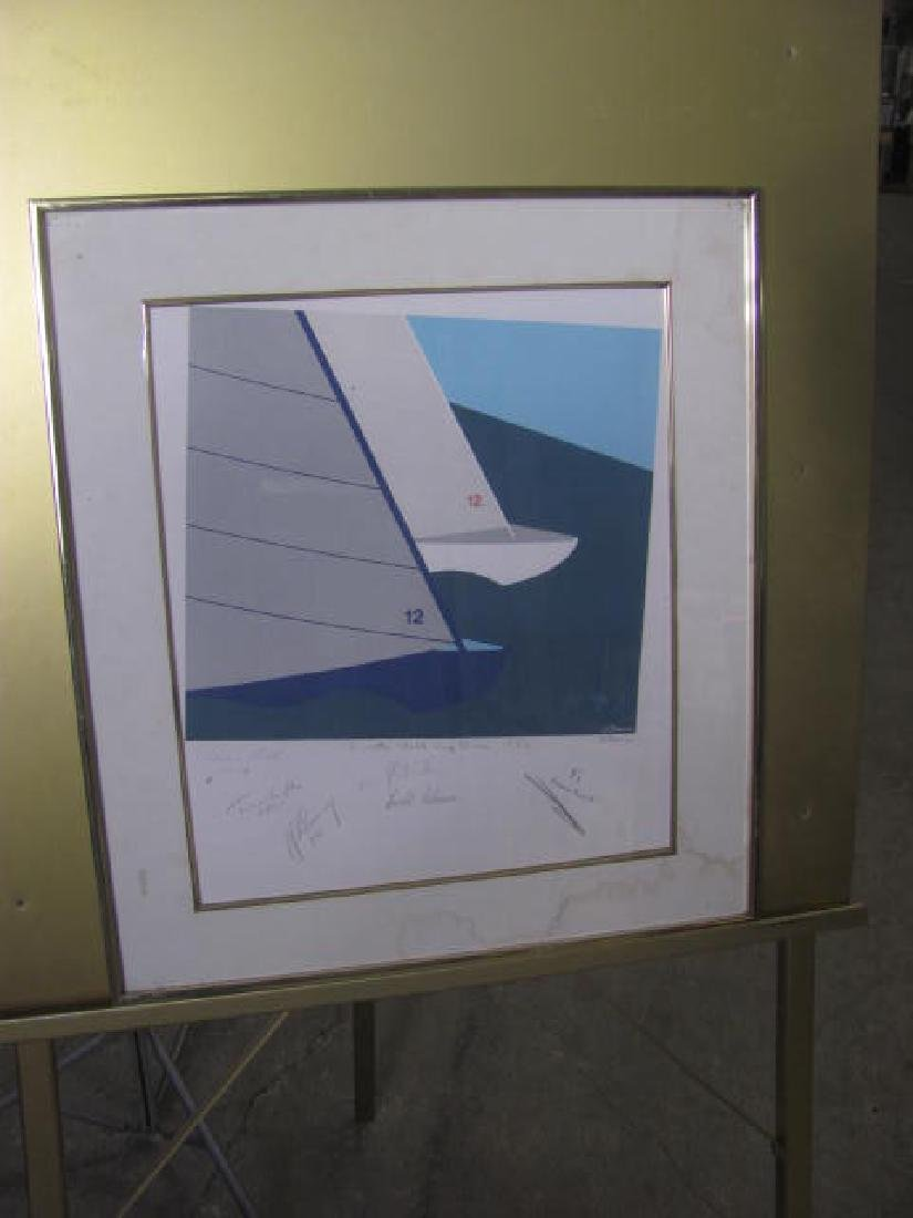 World Cup Race Signed Print