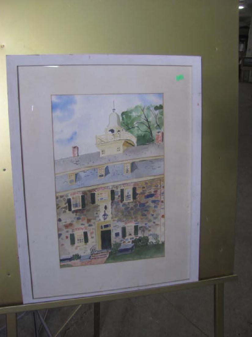 Jane Yoder Watercolor