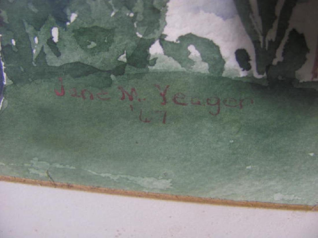 Jane Yoder Watercolor - 2