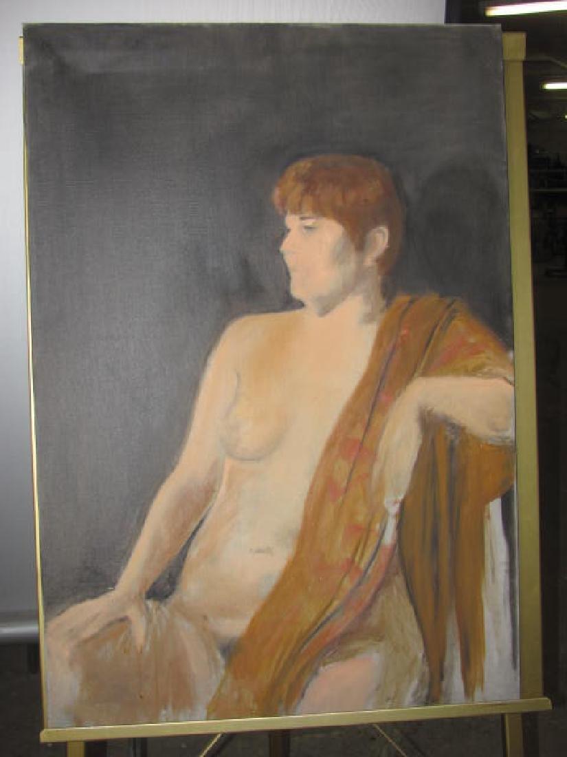 Eliz. Widmayer Signed Nude Portrait