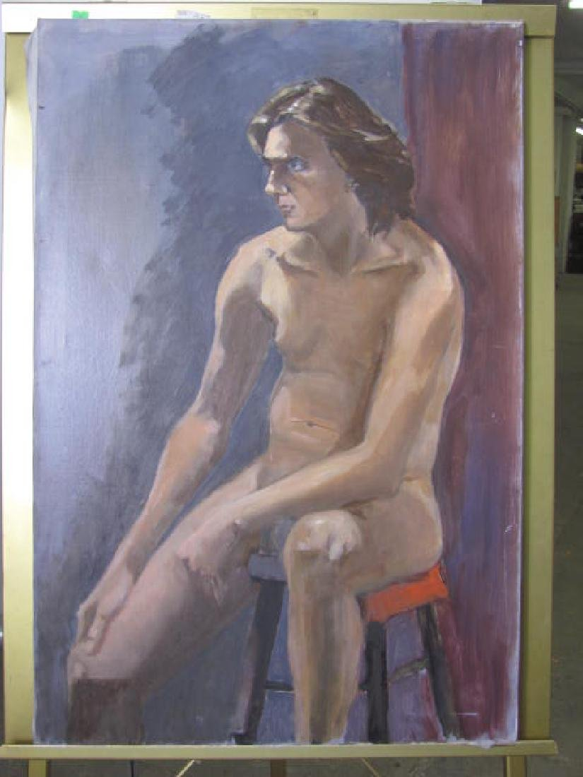 Eliz. Widmayer Nude Portrait